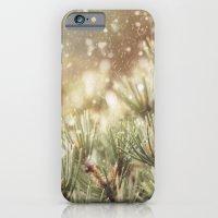 snow on pine iPhone 6 Slim Case