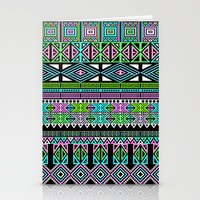 aztec Stationery Cards featuring Aztec by Fimbis