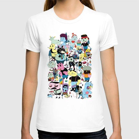 Die Geschichte der Gottlosen T-shirt