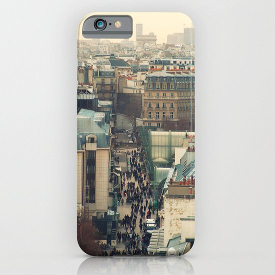 Paris Rooftops iPhone & iPod Case