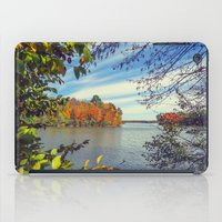 Autumn Peek-a-Boo iPad Case