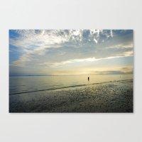 Sunrise Solitude Canvas Print
