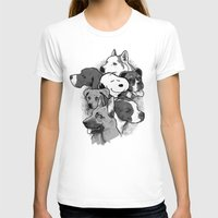 dogs T-shirts featuring Dogs by Ronan Lynam