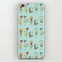 Candy girls iPhone & iPod Skin