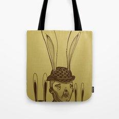 The Rabbit Man Tote Bag