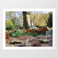 Hyde Park  Art Print