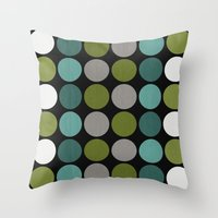 Tranquil Inverse Throw Pillow