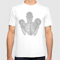 Weight (v2) Mens Fitted Tee White SMALL