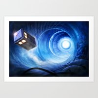 doctor who Art Prints featuring Doctor Who by Joe Roberts