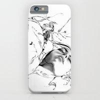 iPhone & iPod Case featuring Line 1 by Martin Kalanda