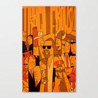 The Big Lebowski (varian… Canvas Print