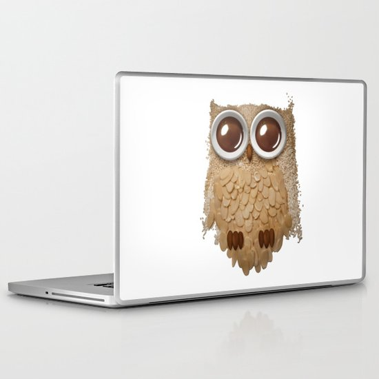 Owl Collage #6 Laptop & iPad Skin