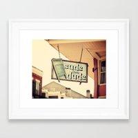 Suds dem Duds Framed Art Print