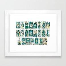 le tarot de créteil Framed Art Print