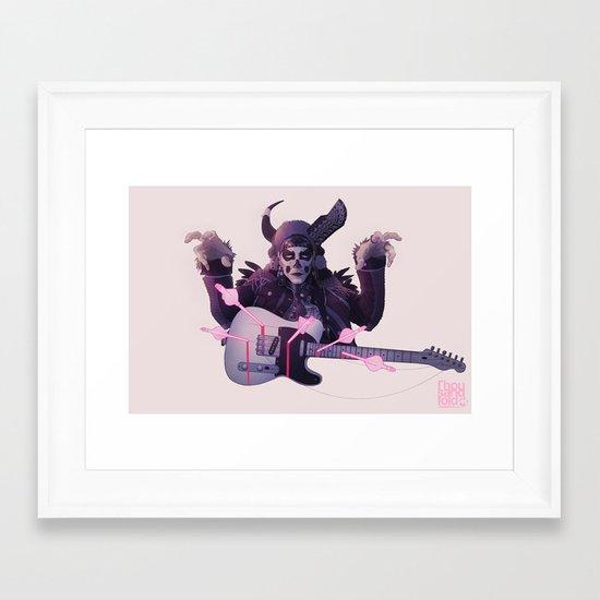 Tele-Caster Framed Art Print