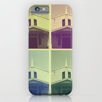 iPhone & iPod Case featuring Same Shit, Different Deity by Purdypowny