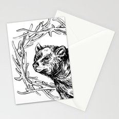 Bear Queen Stationery Cards