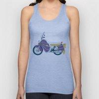 Batgirl's bike Unisex Tank Top