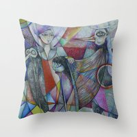 The Sacred Place Throw Pillow