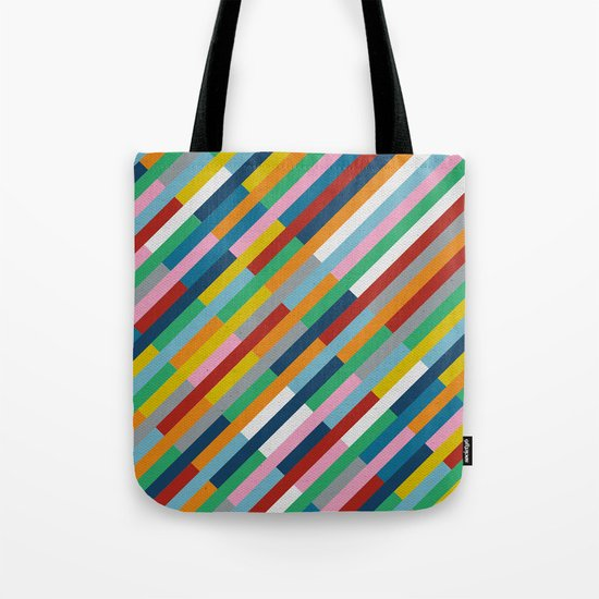 Bricks Rotate 45 Tote Bag