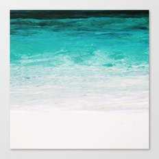 Shades of the Ocean Canvas Print