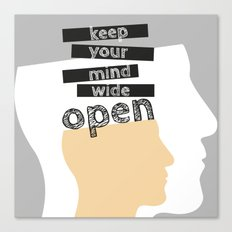 OpenMind Canvas Print