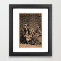 Meet the Troopers Framed Art Print