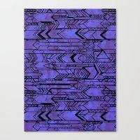 Kama'aina Purple Canvas Print