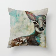 Fawn - Acrylic Throw Pillow