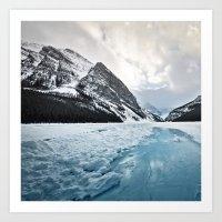 Frozen Louise Art Print