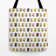 Lucky Cat / Maneki Neko Tote Bag