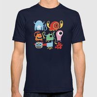 Petites créatures Mens Fitted Tee Navy SMALL