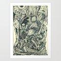 Hantu Art Print