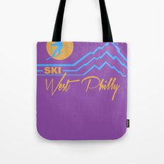 Ski West Philly Tote Bag