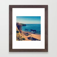 Ripples Of The Ocean Framed Art Print