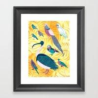 Aviary I Framed Art Print