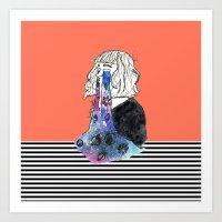 Universe Eyes Art Print