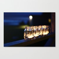 Mason Lights Canvas Print