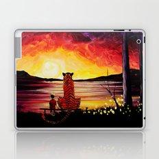 Calvin And Hobbes Art Painting Laptop & iPad Skin