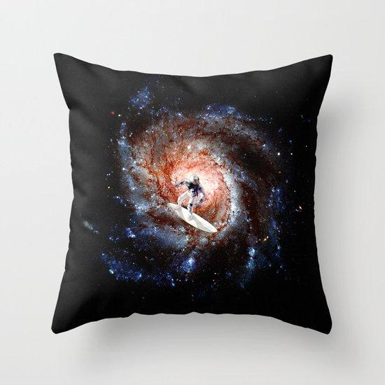 Ride The Spiral Throw Pillow