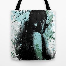In Pieces Tote Bag