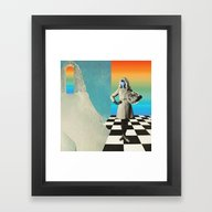 Framed Art Print featuring Neptunia Colors by Mariano Peccinetti A…