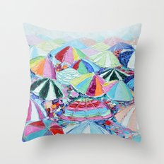 Shore Day Throw Pillow