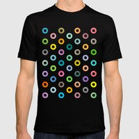 Auras. Mens Fitted Tee Black SMALL