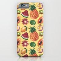 Fruit Pattern iPhone 6 Slim Case