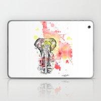 Elephant In A Splash Of … Laptop & iPad Skin