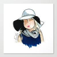 Stella Canvas Print