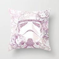 Rococó Stormtrooper Throw Pillow