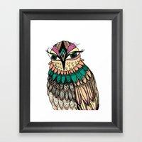 A Lovely Owl Framed Art Print