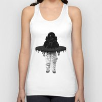 Through the Black Hole Unisex Tank Top